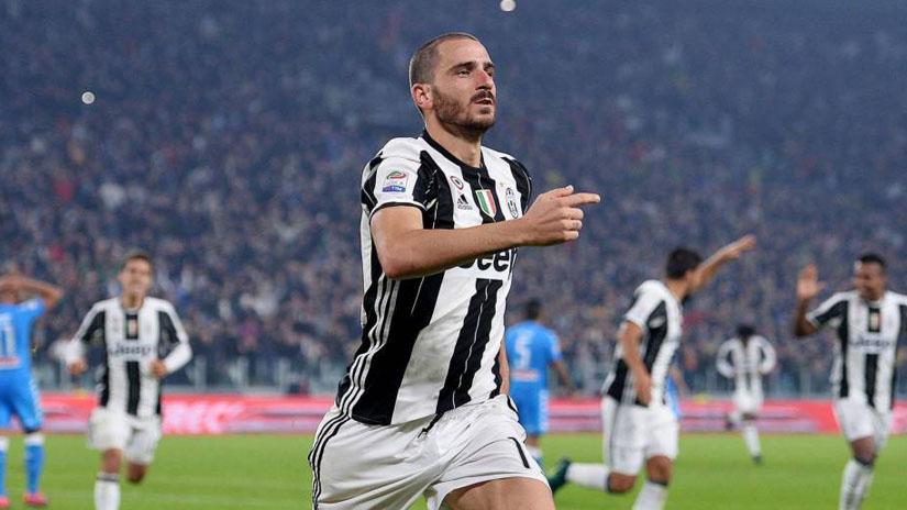 Leonardo Bonucci llega a reforzar al Juventus de Cristiano Ronaldo.