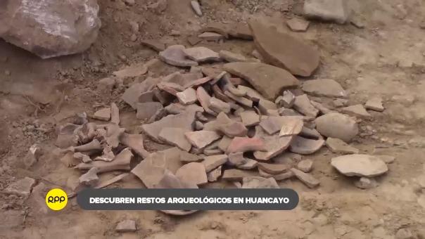 En un hecho fortuito, pobladores encontraron los restos mientras se realizaban obras de remoción con maquinaria a unos metros del conocido santuario ubicado en el Valle del Mantaro.