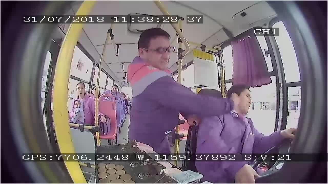 La empresa de transportes instaló cámaras luego de constantes agresiones a su personal.