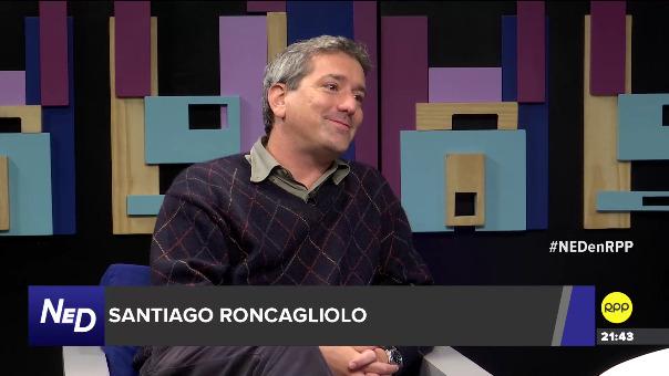 El escritor Santiago Roncagliolo en