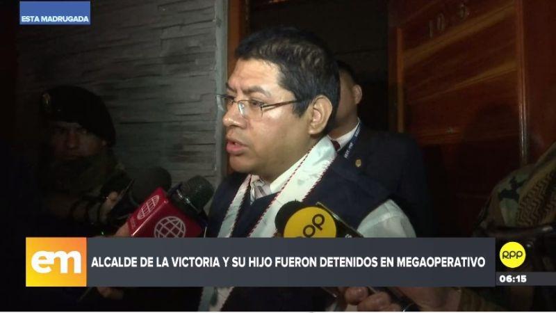 Reynaldo Abia Arrieta dio detalles del megaoperativo contra 'Los Intocables Ediles'.
