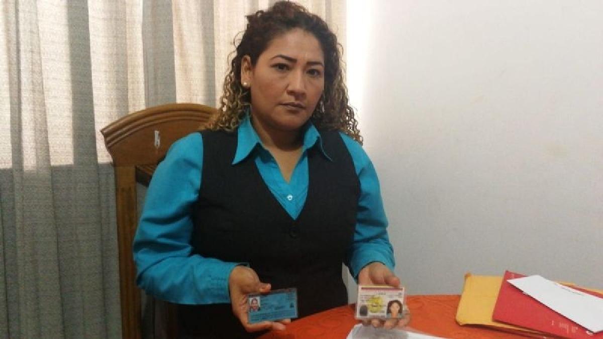 El banco le reclama a Marylda Ibarra una deuda de más de S/9 mil y la ha puesto en la Central de Riesgos de la SBS.
