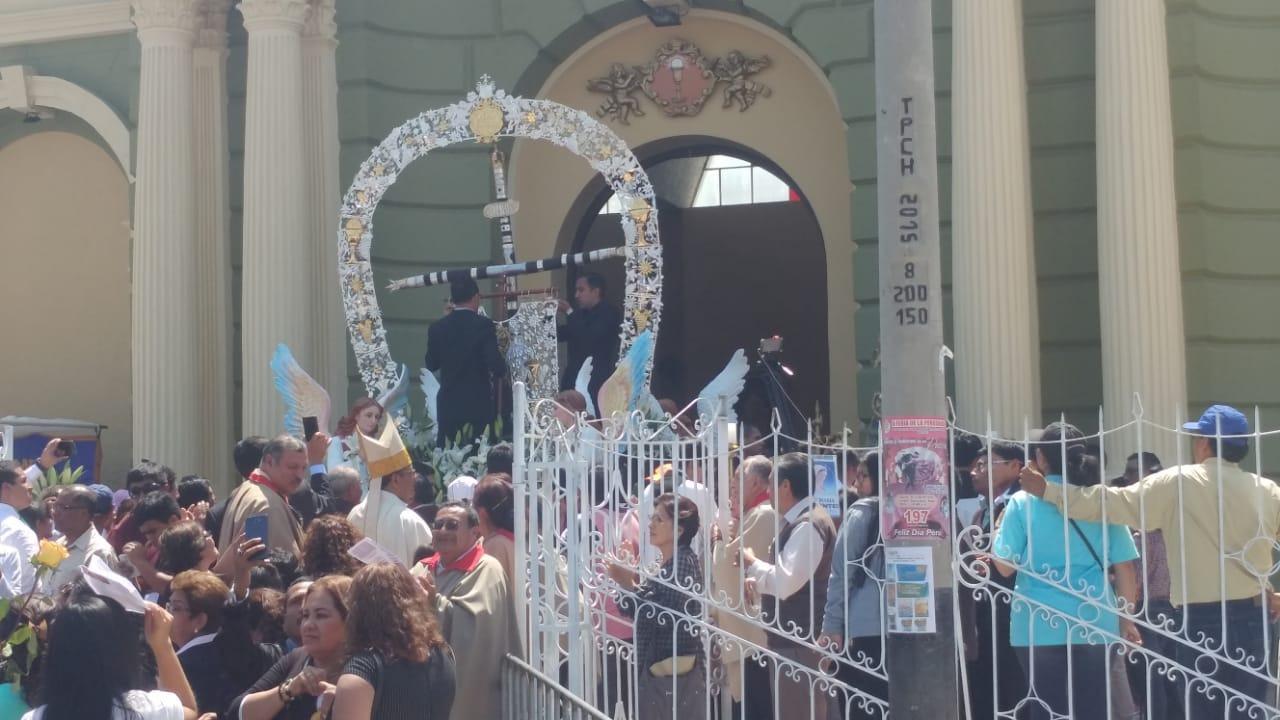 Fieles se congregaron para celebrar 150 años