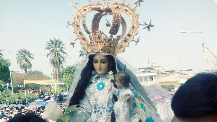 Virgen del Cisne llegó desde Loja - Ecuador