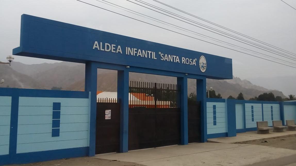 Iris Bocanegra, directora de la Aldea Infantil en Quirihuac.