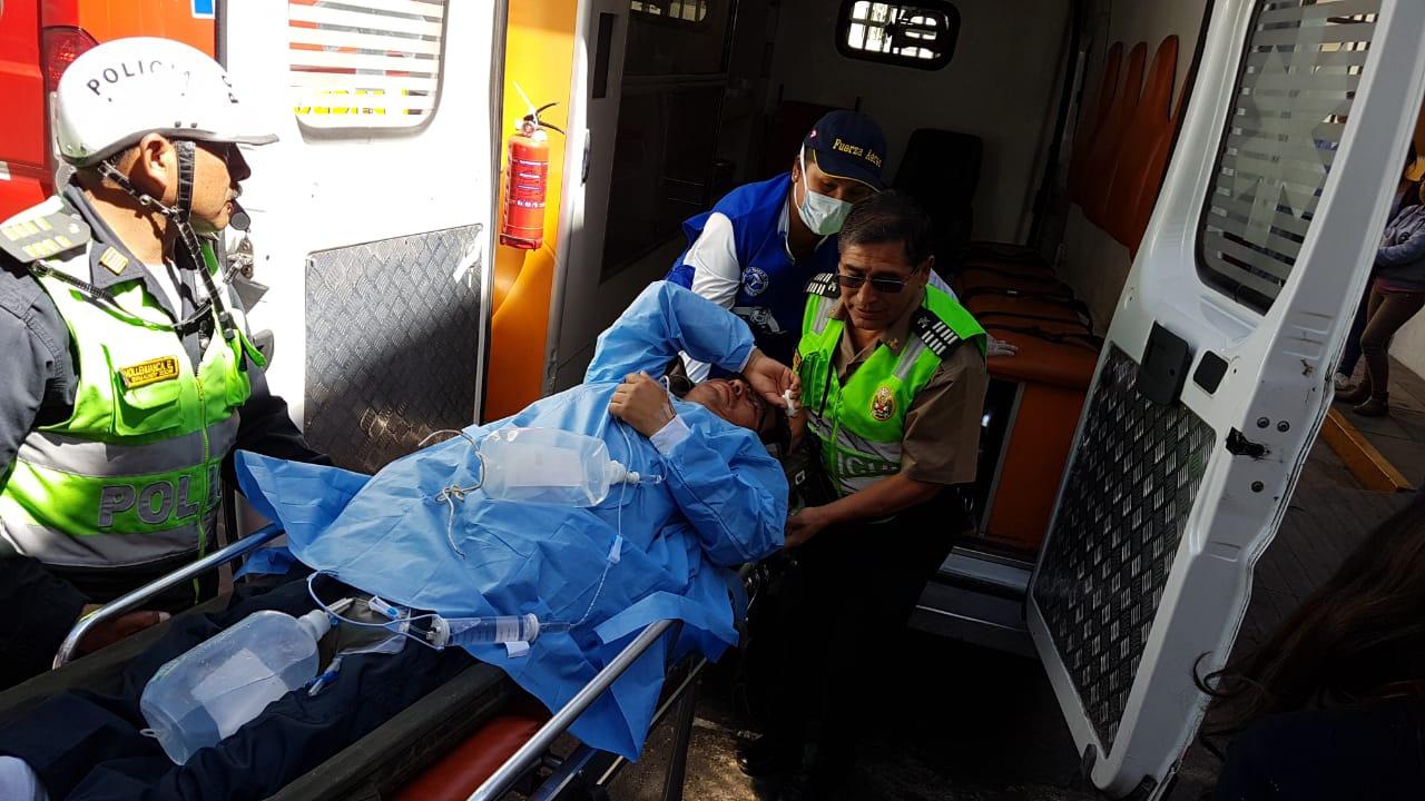 Cinco personas intoxicadas en Ayacucho llegaron hasta los hospitales de la ciudad de Arequipa.