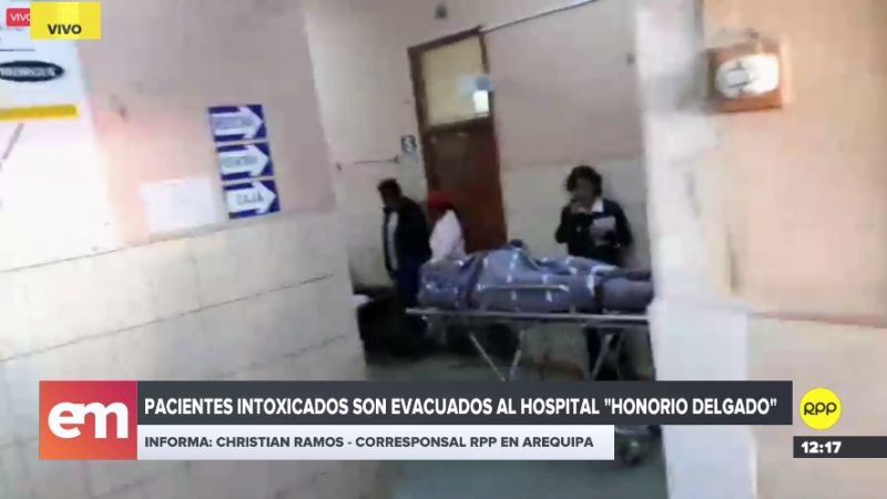 Los pacientes fueron trasladados de emergencia a Arequipa.