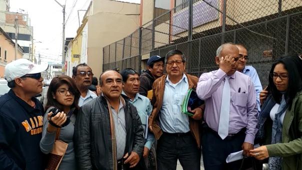 Dirigentes de la empresa Tumán en Chiclayo para hablar con magistrados de la OCMA.