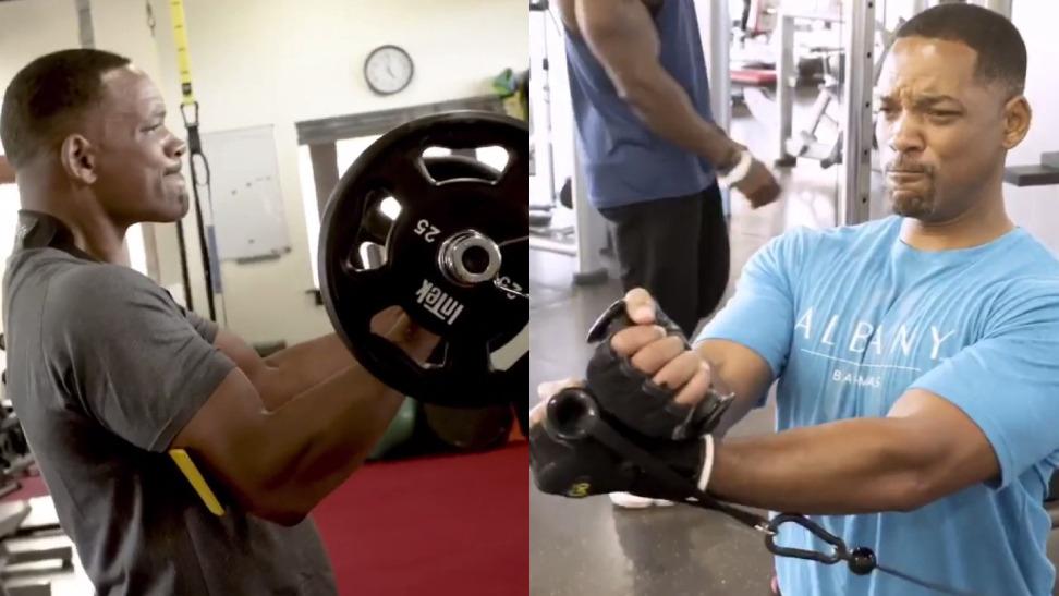 Will Smith y su arduo entrenamiento previo a su cumpleaños número 50.