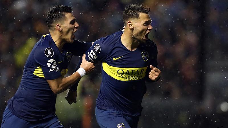 Boca Juniors derrotó 2-0 a Libertad por los octavos de final de la Copa Libertadores.