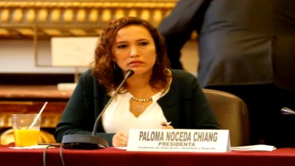 Paloma Noceda habló para 'Fútbol Como Cancha' de RPP.