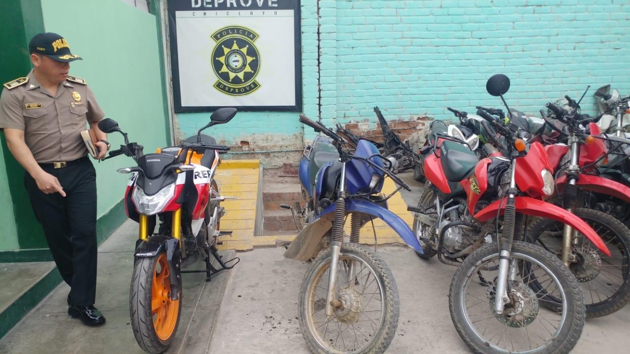 Los vehículos eran llevados a provincias cajamarquinas para ocultar su identidad de circulación.