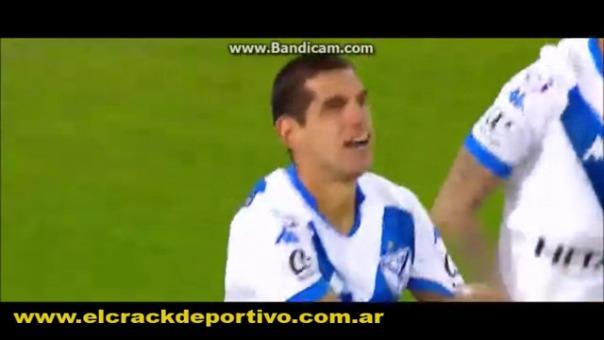 Vélez Sarsfield adelantó con Luis Abram.