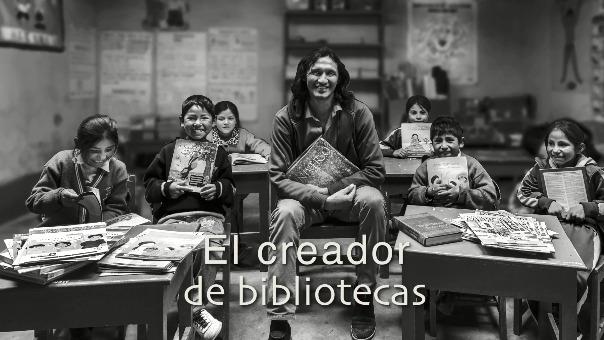 Mira el cuarto episodio de 'La Otra Ruta': El creador de bibiliotecas.
