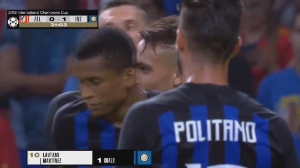 Inter de Milán ganó 2 encuentros en la International Champions Cup y solo perdió por penales ante Chelsea.