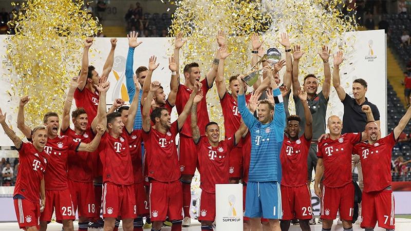 Bayern Múnich goleó 5-0 al Eintracht Frankfurt por la Supercopa de Alemania.