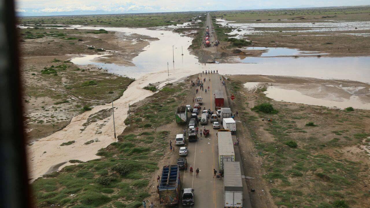 Fenómeno El Niño Costero 2017 dejó gran afectación en Lambayeque