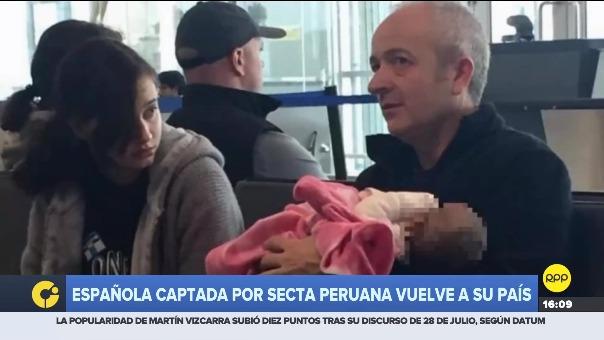 La familia Aguilar regresó a España