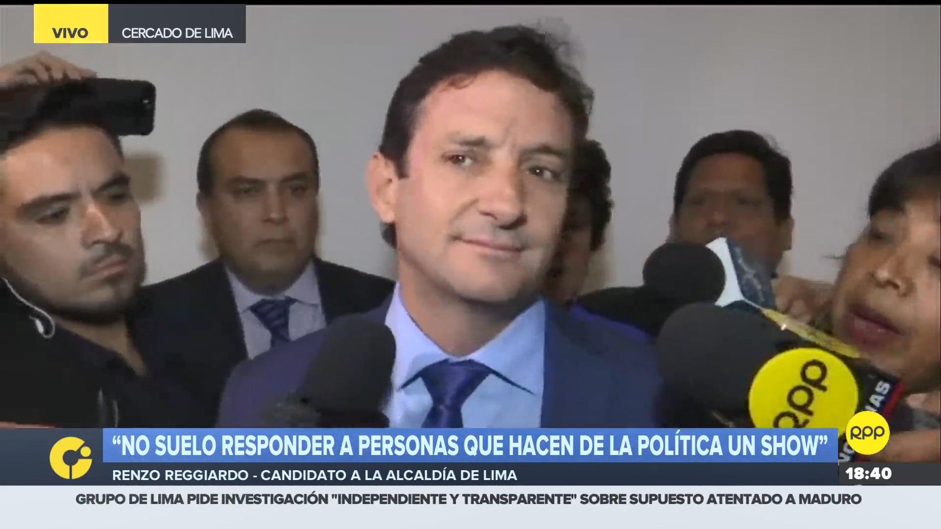 El candidato por Perú Patria Segura firmó el Pacto Ético Electoral.