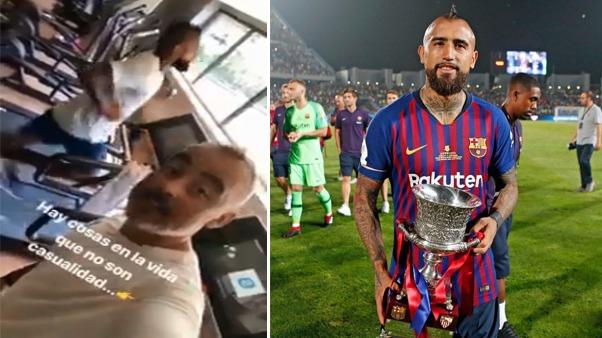 Arturo Vidal no ha podido ganar la Champions League y con su llegada a Barcelona espera conseguir este trofeo.