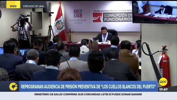 Tercer Juzgado Nacional de Investigación Preparatoria del Sistema Anticorrupción debatirá a partir de las 4 p.m. del miércoles el pedido del Ministerio Público en contra de Antonio Camayo y otros integrantes de organización.
