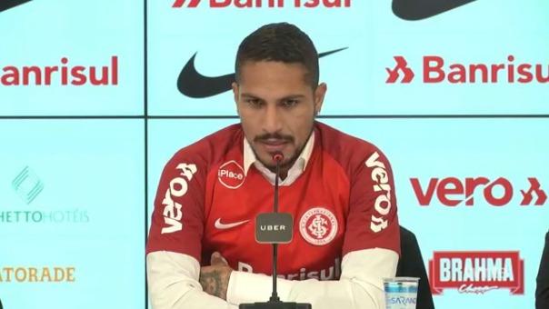Paolo Guerrero jugará en su tercer club en Brasil.
