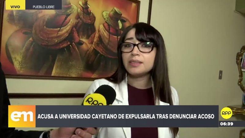 Rosa Canales denunció su caso a través de RPP Noticias.