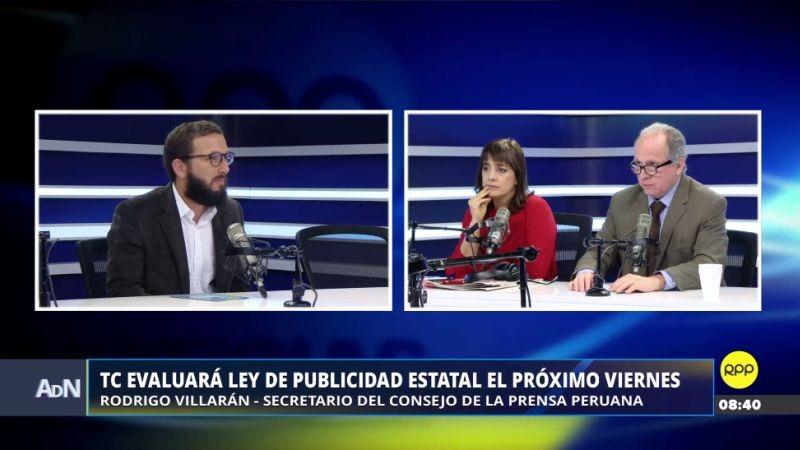 Rodrigo Villarán estuvo esta mañana en Ampliación de Noticias.