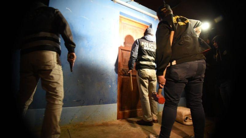 En el megaoperativo participaron 780 policías y 68 representantes del Ministerio Público.