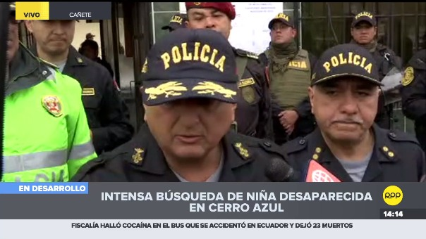 Richard Zubiate declaró a la prensa desde Cañete.