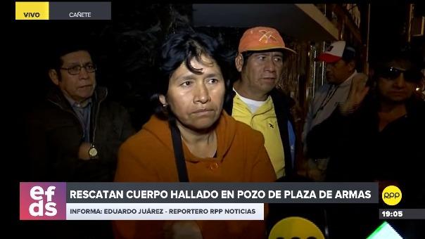 Alejandrina Echejaya, abuela de Xohana Guerra, confirmó que el cuerpo encontrado en un pozo era el de su nieta extraviada desde el jueves.