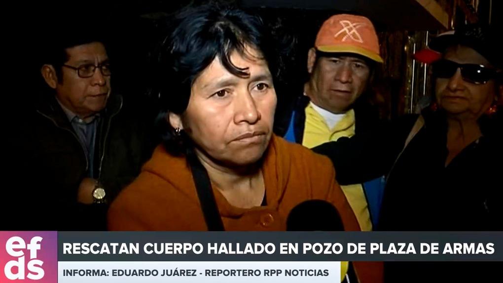 La abuela de Xohana confirmó la identidad de su nieta tras salir de la morgue de Cañete.