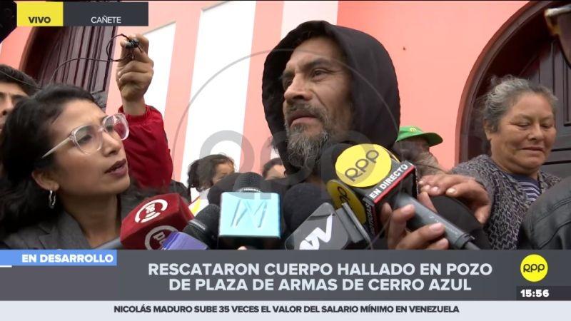 Edgar Ramírez no dio muchos detalles sobre el estado en que encontró el cuerpo, salvo que vestía ropa color rosado.