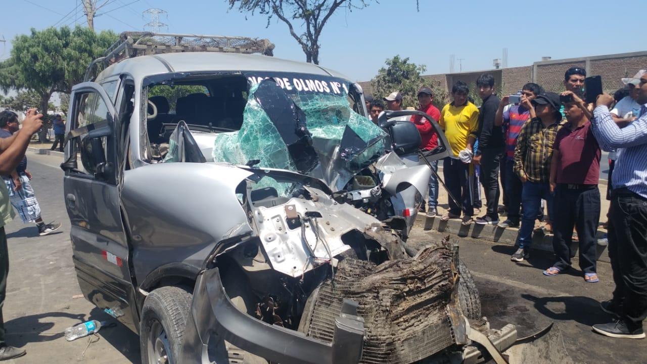 Las personas heridas fueron evacuadas y trasladadas de emergencia hasta el hospital Belén.