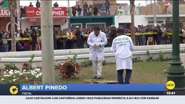 Entrevista al fiscal Albert Pinedo