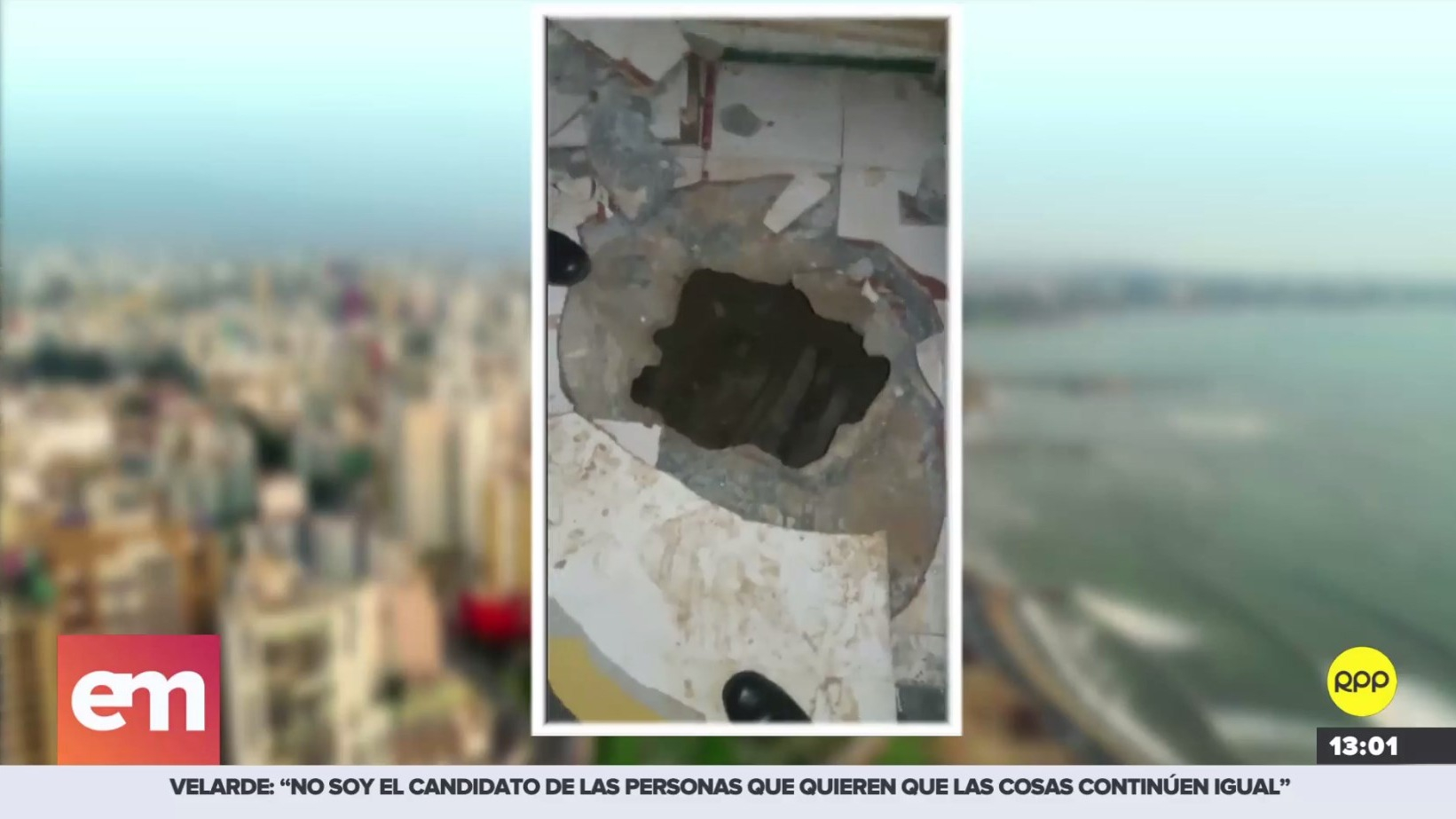 Delincuentes hicieron un túnel para robar joyería en Iquitos.