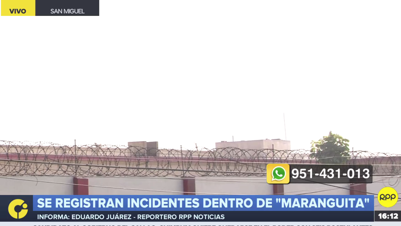 Incendio en Maranguita.