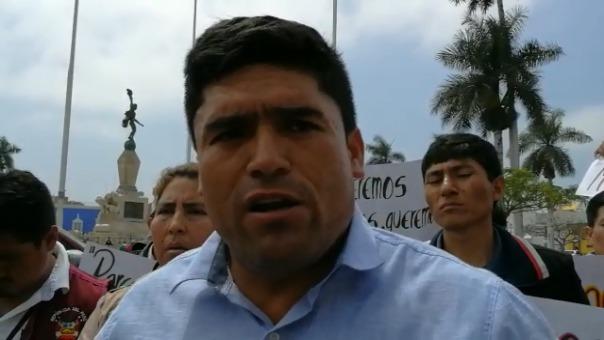 Felipe Araujo, agente edil, demandó atender a escolares.