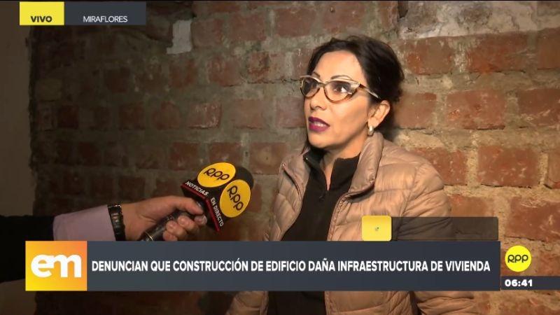 Dora Masías denunció su caso a través de RPP Noticias.