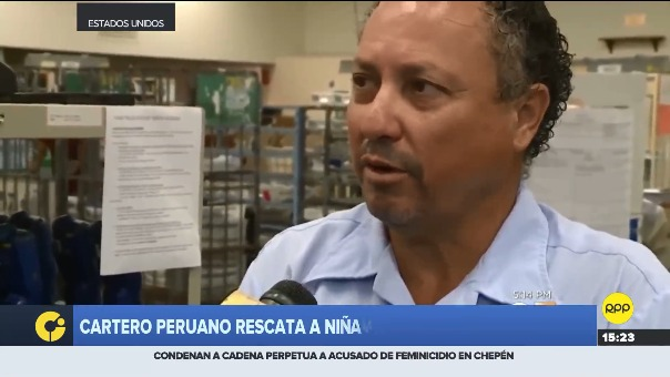 Entrevista a peruano aplaudido por labor heróica.