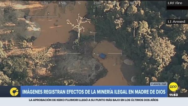 El conjunto de imágenes fue posteriormente trabajada en el Centro de Vigilancia Amazónico Nacional (CEVAN).