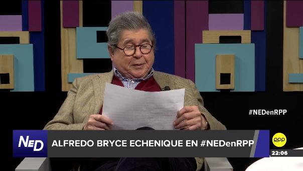 Alfredo Bryce Echenique leyó en vivo el inicio de