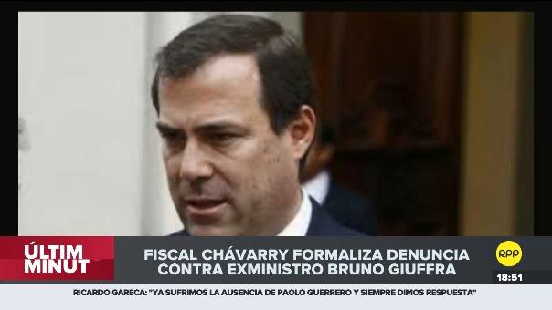 Bruno Giuffra estuvo vinculado en presuntos ofrecimientos a congresistas para que cambien sus votos a favor de la no vacancia de Pedro Pablo Kuczynski.