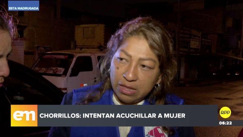 La mujer denunció que el sujeto la quiso atacar en la puerta de un local partidario.