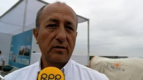 Iván Mesia, gerente general de la empresa Láctea.