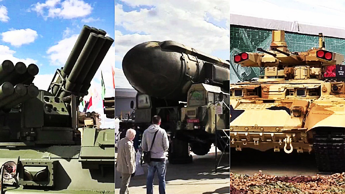 Mira un resumen de las armas que exhibe Rusia en su feria.