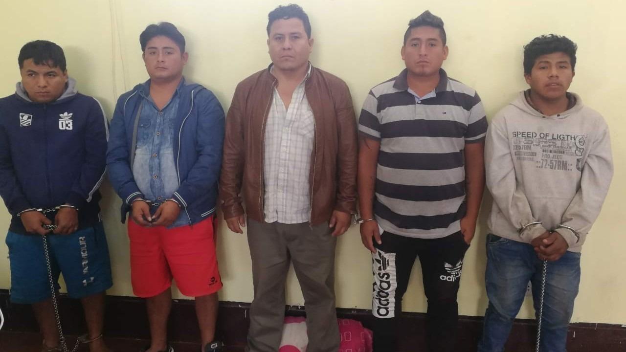 Captura de integrantes se realizó tras intervención simultánea en Trujillo, Chimbote y una celda en Ancón (Lima).