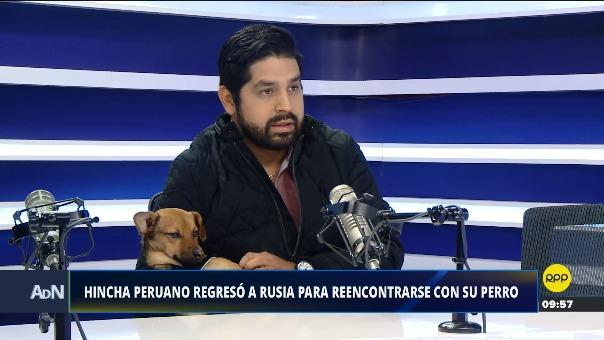 Ricardo Lazo fue a Rusia a ver el Mundial y regresó a Perú con una mascota.