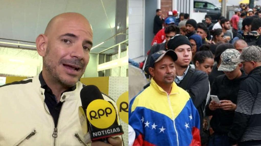 Ricardo Morán envió un contundente mensaje sobre la xenofobia en el Perú.