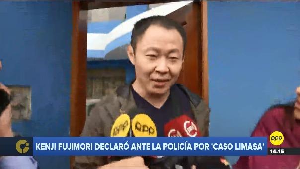 Kenji Fujimori no quiso comentar las reuniones que sostuvo su hermana Keiko con Martín Vizcarra.